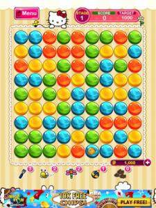 Bubble Mania Hello Kitty Edition by Bigone screenshot