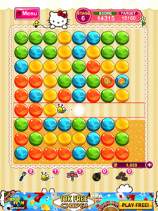 Bubble Mania Hello Kitty Edition by Bigone screenshot