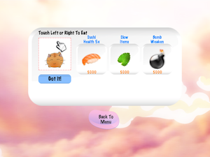 Hungry Sushi Cat by vitapoly inc. screenshot