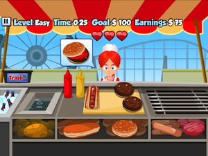 Hot Dog Stand by Nomnomnom screenshot