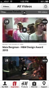 H&M by H&M screenshot
