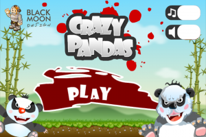 Crazy Pandas by BlackMoon Design screenshot