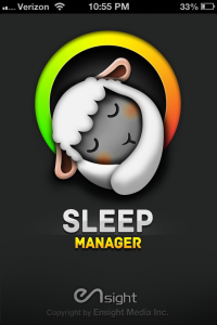 Sleep Manager by EnSight Media screenshot