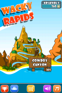 Wacky Rapids by Paw Print Games screenshot