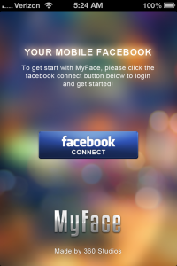 MyFace+ for Facebook by 360 Studios screenshot