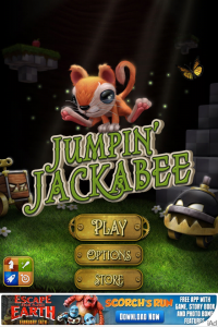 Jumpin Jackabee by One-Sock Prince screenshot
