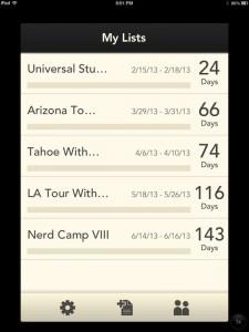 Stow - the modern packing list by Apptifica, LLC screenshot