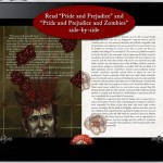 Pride and Prejudice and Zombies for iPad 3