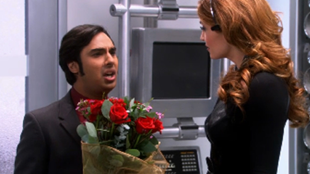"Raj meets ""Siri"" on ""Big Bang Theory"""