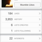 StumbleUpon for iPhone 5