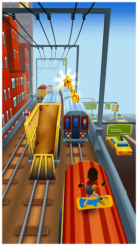 Surf And Sprint Through The New York City Subway In Subway Surfers