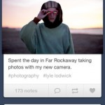 Tumblr for iPhone 1