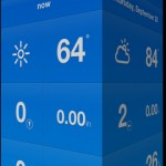 Weathercube for iPhone 1