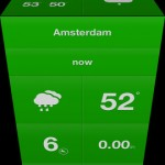 Weathercube for iPhone 3