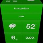 Weathercube for iPhone 3