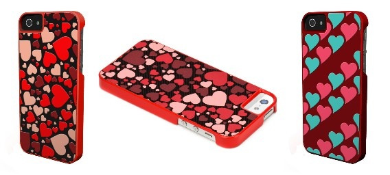 There are two special cases for the iPhone 5, Rising Hearts and Fluttering Hearts.