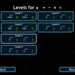 Math Fleet version 1.2 (iPad 2) - Levels For All Equation Types