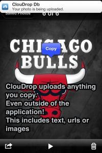 ClouDrop for Dropbox by TouchMiPhone screenshot