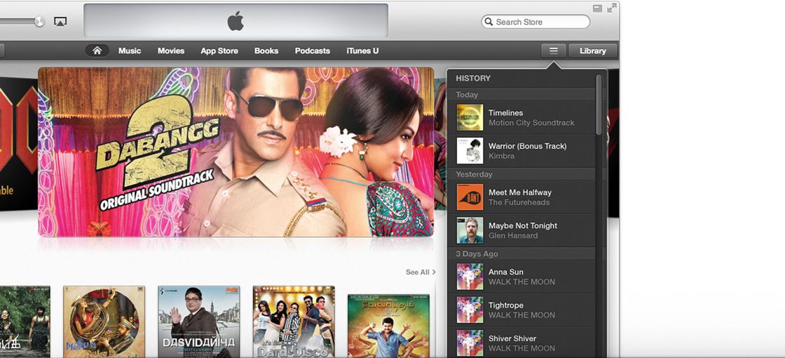 iTunes In India