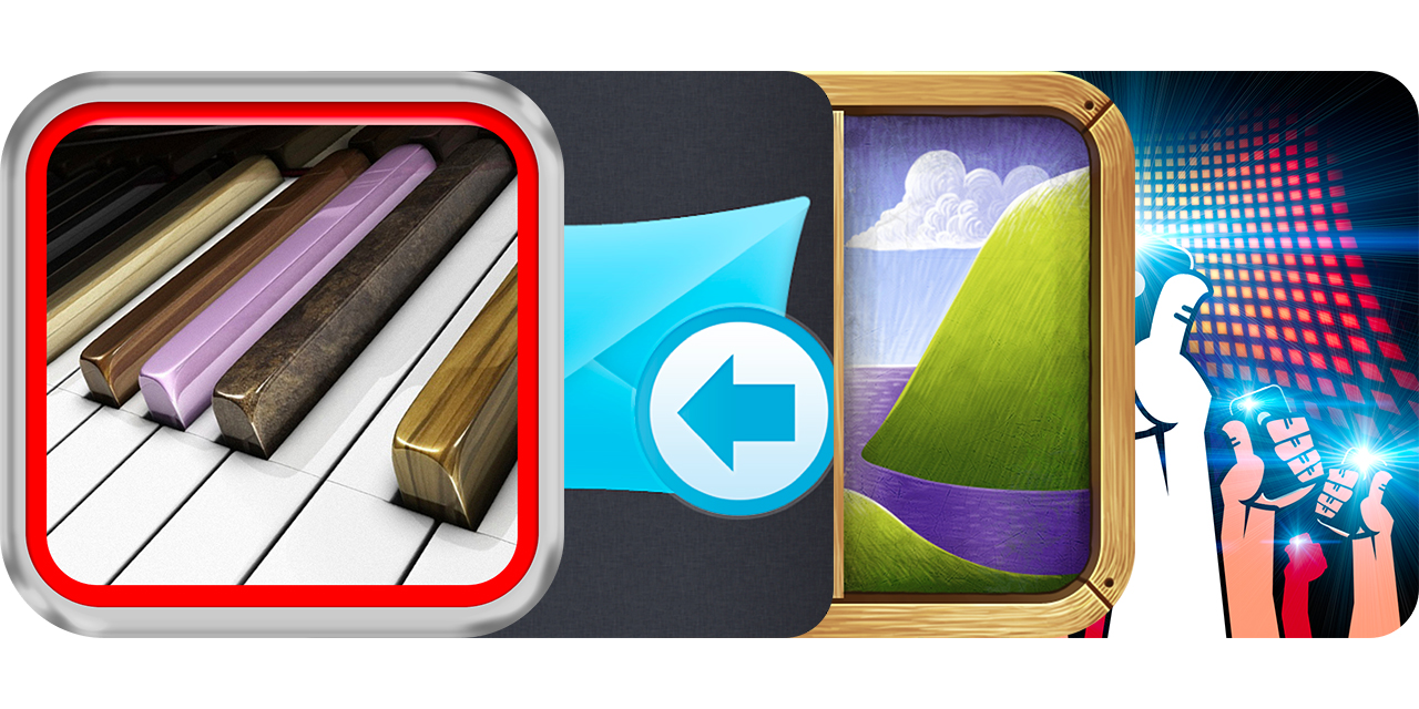 today's best apps: 3d piano, email templates, framing and more