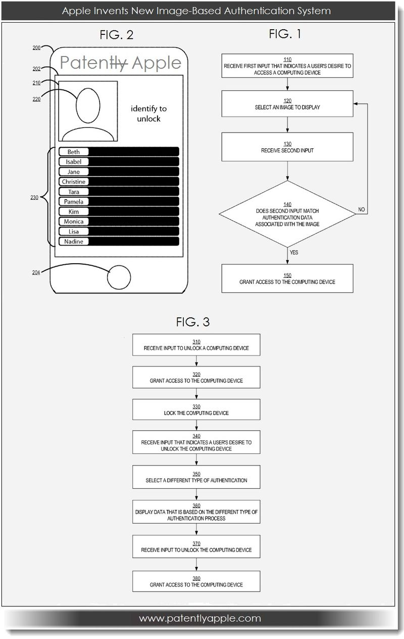 Image-Based Authentication Patent Application