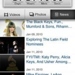 Grammys for iPhone 1