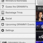 Grammys for iPhone 2