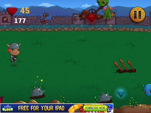 A Knights of the Kingdom vs. Temple Dragons Game by Shannon Le screenshot