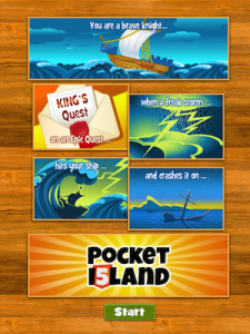 Pocket Island HTML5 by Philipp Moeser screenshot
