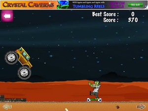 Monster Truck Zombie HD Free by Good Life App screenshot