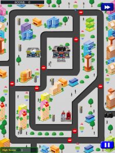 Traffic Town - The ultimate challenge by Andres Trompetero screenshot
