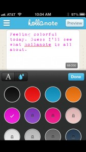 Hollanote by Pokajot Pty Ltd screenshot