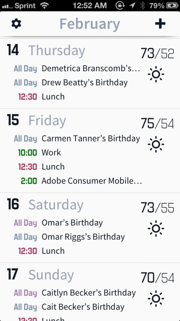 Get Your Schedule And Weather In One App With Horizon Calendar