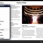 NYTimes for iPad 3