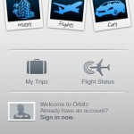 Orbitz for iPhone 1
