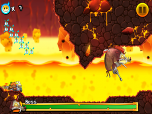 Hell Yeah! Pocket Inferno by SEGA screenshot