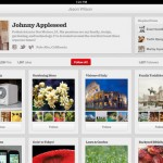 Pinterest for iPad 1