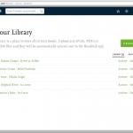 Readmill.com Library
