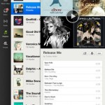 Spotify for iPad 2
