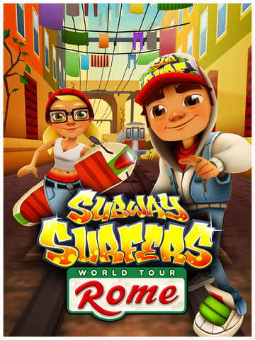 Subway Surfers , which is my favorite endless running game bar none