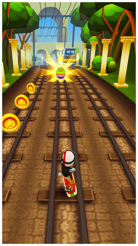 All Train Tracks Lead To Rome In Subway Surfers' New Content Update