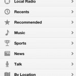 TuneIn Radio for iPhone 3