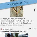 WordPress for iPhone 5