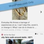 WordPress for iPhone 5
