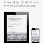 iA Writer for iPad 1
