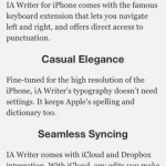 iA Writer for iPhone 4