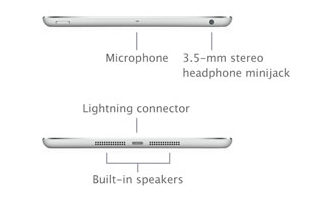 The iPad mini: Dual Speakers