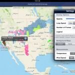 NOAA Radar Pro version 1.1 (iPad 2) - Preferences