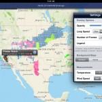 NOAA Radar Pro version 1.1 (iPad 2) - Preferences