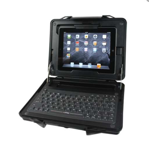MacWorld/iWorld 2013: iKey's StreetCase Gives The iPad A Rugged, Bluetooth Keyboard